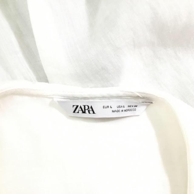 ZARA(ザラ)のZARA セーラーフリル シャツ レディースのトップス(シャツ/ブラウス(長袖/七分))の商品写真