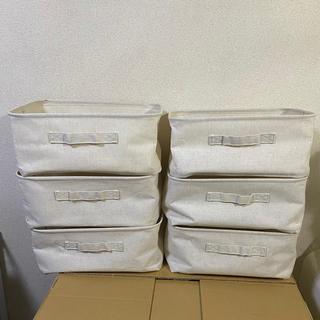 ムジルシリョウヒン(MUJI (無印良品))の無印良品 ポリエステル綿麻混・ソフトボックス・長方形・小(ケース/ボックス)