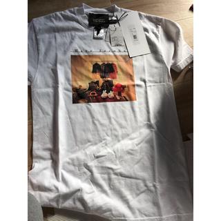 マークバイマークジェイコブス(MARC BY MARC JACOBS)の新品 マークジェイコブ Tシャツ 未使用 バックプリント Sサイズ(Tシャツ(半袖/袖なし))