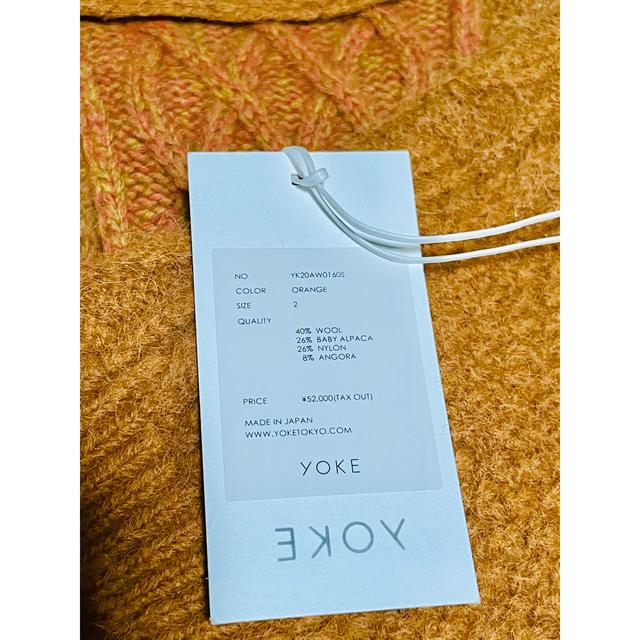 SUNSEA(サンシー)の [新品]YOKE ヨーク CROSSING KNIT メンズのトップス(ニット/セーター)の商品写真