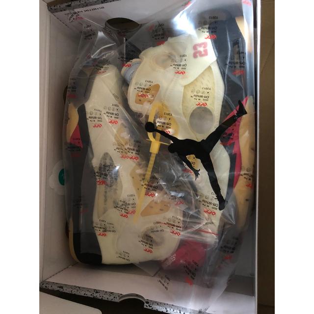 NIKE(ナイキ)のエアジョーダン 5 off-white  27センチ メンズの靴/シューズ(スニーカー)の商品写真