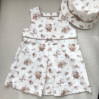 ベビーディオール(baby Dior)のワンピース帽子セット(ワンピース)