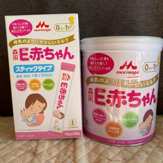 E赤ちゃんセット 800g大缶+スティック10本