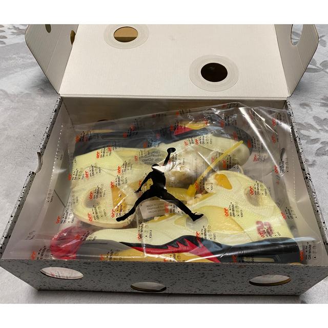 OFF-WHITE(オフホワイト)のジョーダン5OFF-WHITE × NIKE AIR JORDAN 5 SAIL メンズの靴/シューズ(スニーカー)の商品写真