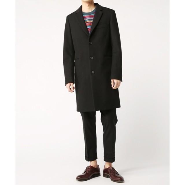 Paul Smith(ポールスミス)の17aw PS Paul Smith メルトンシングルチェスターコート メンズのジャケット/アウター(チェスターコート)の商品写真