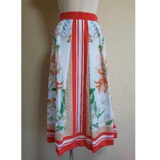 VIAGGIO BLU - Viaggio Blu スカーフ柄 スカート