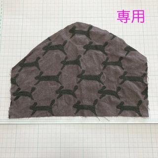ミナペルホネン(mina perhonen)の専用 はぎれ 2枚(生地/糸)