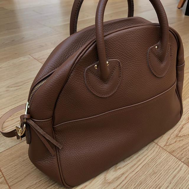 Spick and Span(スピックアンドスパン)の美品ヤングアンドオルセン エンボスレザーボストンバッグスピックアンドスパン購入 レディースのバッグ(ボストンバッグ)の商品写真