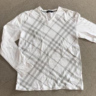 バーバリーブラックレーベル(BURBERRY BLACK LABEL)のロンティー トップス バーバリー ブラックレーベル (Tシャツ/カットソー(七分/長袖))