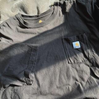 carhartt - carhartt 半袖Tシャツ ブラウン XL