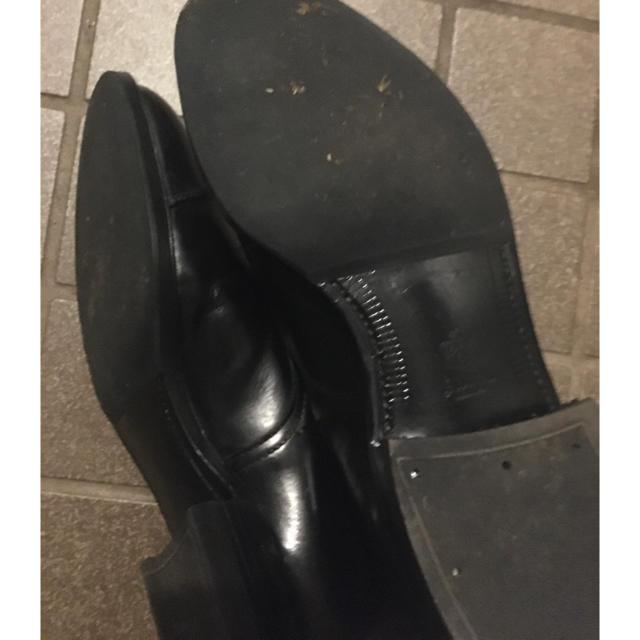 Alden(オールデン)のAlden ストレートチップ キャップトゥ モディファイドラストカーフ ブラック メンズの靴/シューズ(ドレス/ビジネス)の商品写真