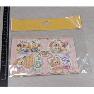 ダッフィー - ハートウォーミングデイズ ポストカード 2枚セット はがき 絵はがき 葉書