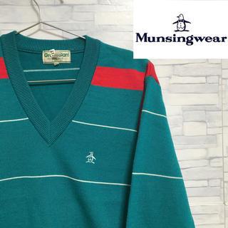 マンシングウェア(Munsingwear)の【オススメ】 Munsingwear マンシングウェア ニット セーター(ニット/セーター)