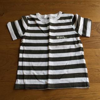 マーガレットハウエル(MARGARET HOWELL)の新品!MHL.ボーダーT 110(Tシャツ/カットソー)