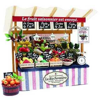 ビリー 手作りドールハウスキット パリのマルシェキット パリの果物屋さん 884(模型/プラモデル)