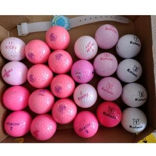 ダンロップ(DUNLOP)のレディースゴルフボール ロストボール24個+新品1個(その他)