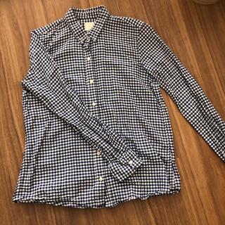 ギャップ(GAP)の美品 GAP ギンガムチェックシャツ(シャツ/ブラウス(長袖/七分))