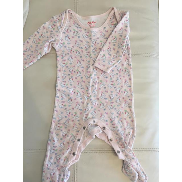 Cath Kidston(キャスキッドソン)のキャスキッドソンロンパース キッズ/ベビー/マタニティのベビー服(~85cm)(ロンパース)の商品写真