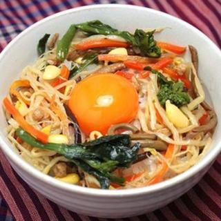 国産 野菜ビビンバ 4パックセット 約8人前(レトルト食品)