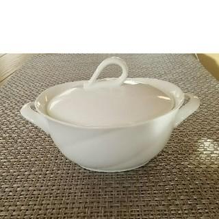 ノリタケ(Noritake)の【未使用】 ノリタケ  ボーンチャイナ シュガーポット ホワイト(食器)