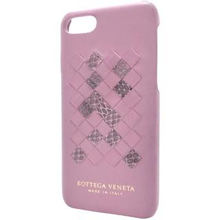 ボッテガヴェネタ(Bottega Veneta)のボッテガヴェネタ  iPhone 7/8ケース 羊革 ヘビ40800056109(iPhoneケース)