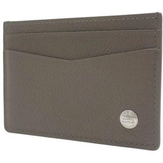 ダンヒル(Dunhill)のダンヒル カードケース レザー ブラウン茶 グレージュ 40800055738(名刺入れ/定期入れ)