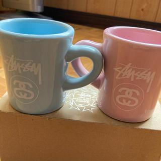 ステューシー(STUSSY)のstussy  ノベルティ ペアマグカップ(グラス/カップ)