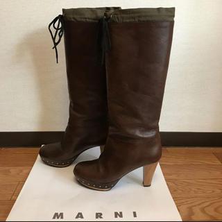 マルニ(Marni)のMARNI マルニロングブーツ (ブーツ)