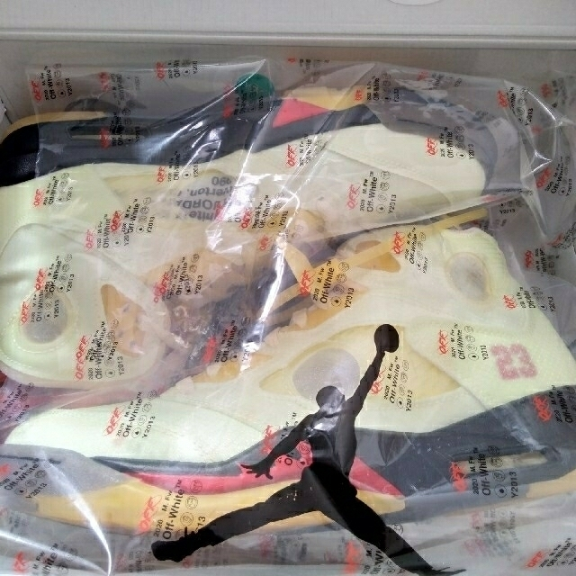 OFF-WHITE(オフホワイト)の エアジョーダン5 オフホワイト セイル メンズの靴/シューズ(スニーカー)の商品写真