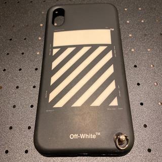 OFF-WHITE - OFF WHITE オフホワイト iPhoneXケース 定番ブラック