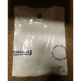 UVERworld グッズ ロングスリーブTシャツ (ロンT)  ホワイト(Tシャツ/カットソー(七分/長袖))