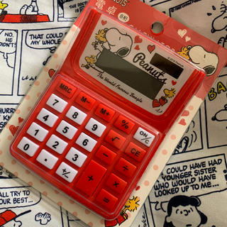 SNOOPY - お値下げ♪スヌーピー電卓