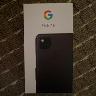 ANDROID - Pixel 4a ブラック 128g ケース付