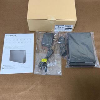 EX-HD2CZ I-O DATA 外付けハードディスク 2TB 中古美品
