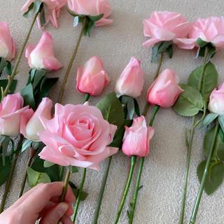 フランフラン(Francfranc)の【M様専用】バラ アーティフィシャルフラワー 造花(ブーケ)