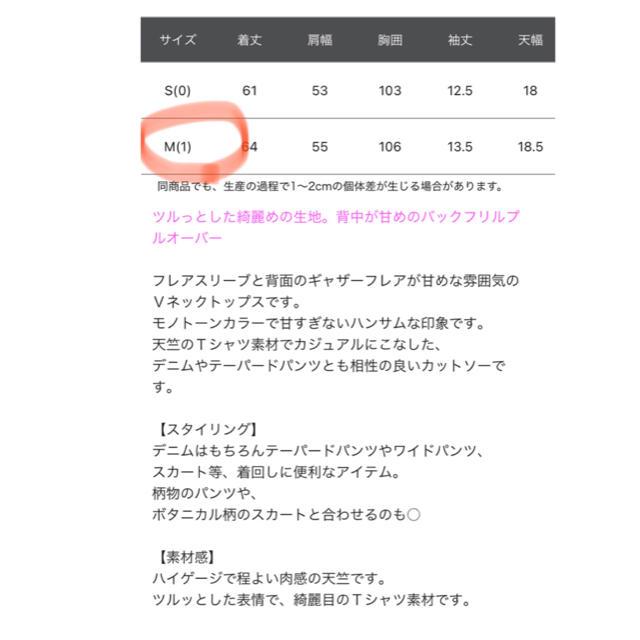 BARNYARDSTORM(バンヤードストーム)の☆BARNYARDSTORM☆バンヤードストーム バックフリルプルオーバー レディースのトップス(カットソー(半袖/袖なし))の商品写真