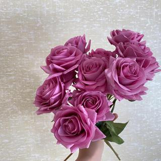 フランフラン(Francfranc)のバラ 薔薇 アーティフィシャルフラワー 造花 ブーケ 花材(ブーケ)
