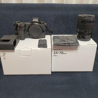 Nikon - Nikon Z6 フルサイズ 24-70㎜ f/4 レンズキット 付属品全てあり