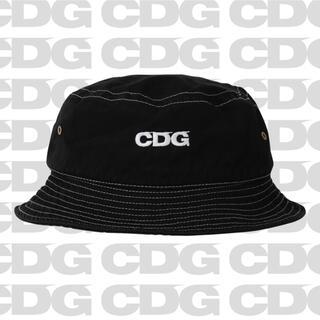 コムデギャルソン(COMME des GARCONS)のコムデギャルソンCDG GARMENT DYED HAT black(ハット)