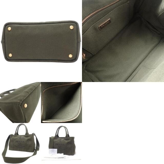 PRADA(プラダ)のプラダハンドバッグ CANAPA カナパ キャンバス 40800058723 レディースのバッグ(トートバッグ)の商品写真