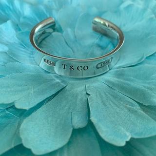 Tiffany & Co. - 正規品ティファニー1837シルバーバングル