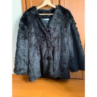 ウィゴー(WEGO)のwego ウィゴー フェイクファーコート ファー コート(毛皮/ファーコート)