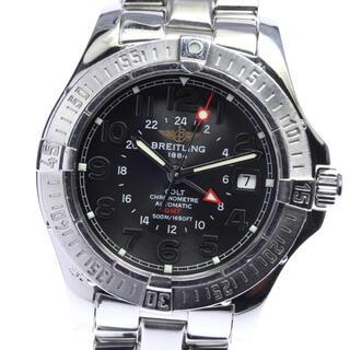 ブライトリング(BREITLING)のブライトリング コルト GMT  A32350 自動巻き メンズ 【中古】(腕時計(アナログ))