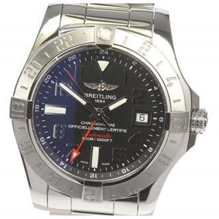 ブライトリング(BREITLING)の☆美品 ブライトリング アベンジャーII GMT A32390 メンズ 【中古】(腕時計(アナログ))