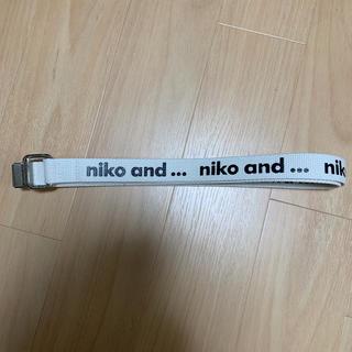 ニコアンド(niko and...)のベルト ニコアンド  niko and メンズ レディース  ユニセックス(ベルト)