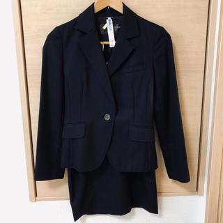 ボディドレッシングデラックス(BODY DRESSING Deluxe)の膝丈ブラックスーツ36 クリーニング済み(スーツ)
