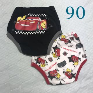 ディズニー(Disney)のYuii様   パンツ 3層 サイズ90  カーズ(トレーニングパンツ)