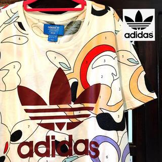 adidas - アディダス リタオラ レア! 数字 Tシャツ ジャージ タンクトップ 花柄