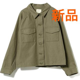 ビームス(BEAMS)の新品 定価10,890円 bming by beams アーミーシャツジャケット(ブルゾン)