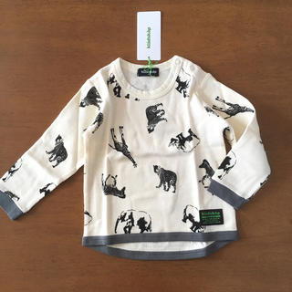 kladskap - 新品 90 長袖Tシャツ クレードスコープ  動物柄